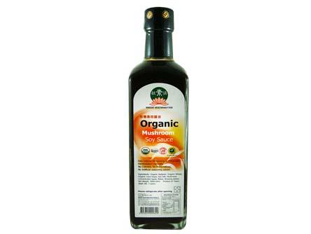 Organic Musshroom Soy Sauce 500ml 香菇有機醬油 HB2 SAU OM (500mlX12)