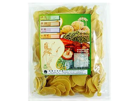 Vg Original Prawn Cracker/Green Bean 素天然綠豆蝦片 KY2 SNA OPC4 (350gX20)