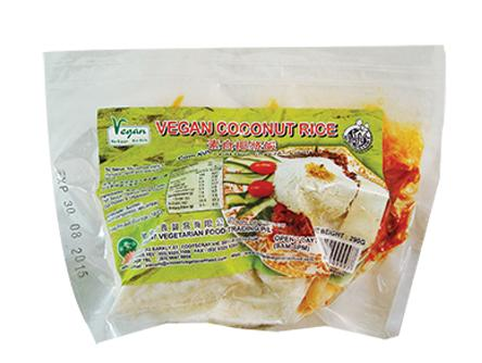 Vg Inst Nasi Lemak(Coconut Rice) 速食椰漿飯 SH1 SNA NL (290gX60)