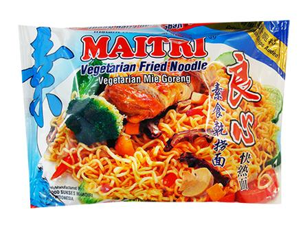 Veg Fried Instant Noodle 素良心乾撈麵 KY2 NOI MFN (85gX40)