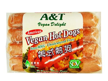 Vg Hot Dog (American)(Vegan) 素美式熱狗 A1 SAU VHD1 (300gX50)