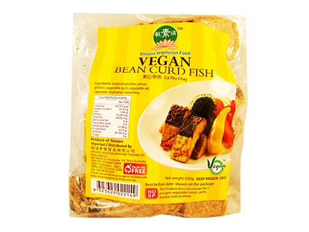 Vegan Bean Curd Fish 素白帶魚 SC1 FIS VBCF (500gX40)