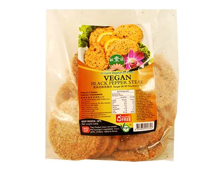 Vegan Black Pepper Steak 素黑胡椒香酥排 CF1 CHI VBPS (600gX20)