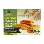 VEGAN CURRY SAUSAGE ROLL(2PCS/BOX) OR1 SNA VCS (280GX95)